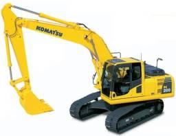 curso de operador de escavadeira hidraulica