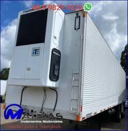 Carreta frigorífica 02 Eixo  Marca: Randon Capacidade: 22 pallets (11.50MT) Ano/mod: 2005