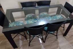 Título do anúncio: Mesa 6 Cadeiras