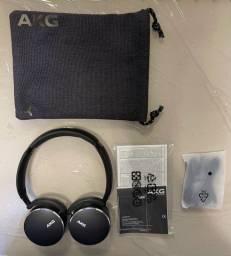 Headphones Wireless Bluetooth AKG Y500 Preto (Original)