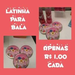 Latinha personalizadas