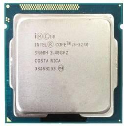 Processador gamer Intel Core i3-3240  3.4GHz de frequência com gráfica integrada