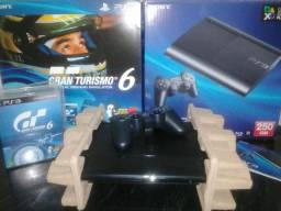 Ps3 Super Slim 250gb Edição Gran Turismo 6