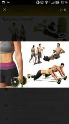 Roda de exercícios ajustável