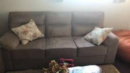 Vendo sofá semi novo, com 2 e 3 lugares