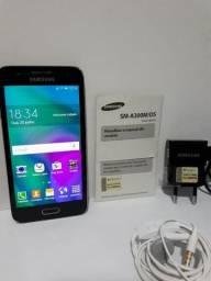 Smartphone Samsung Galaxy A3 Duo 16Gb Preto