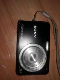 Câmera digital Sony com funcionamento perfeito