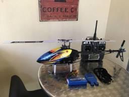 Helicóptero controle remoto Align T-REX 450 3D Sport Flybarless. Top de linha na categoria