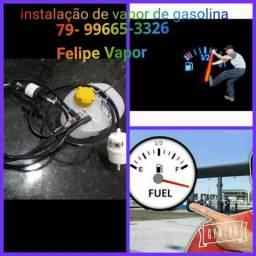 Felipe vapor de gasolina