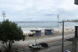 Excelente apartamento, Frente para o Mar