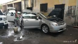 PARA VENDER LOGO! Honda new civic lxs automático 2008/2008 - 2008
