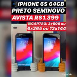 Iphone 6s - 64gb - seminovo
