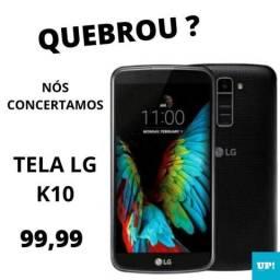 Troca de LCD de k10 (com escrita) SEM cI 90 DIAS DE GARANTIA