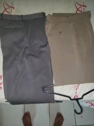 Lindas calças de linho fino novas número 44