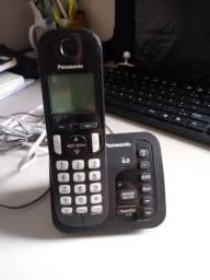 Telefone sem fio com Bina/Secret.