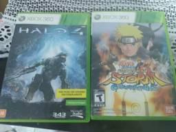 Jogos Xbox 360, Halo4 e Naruto ninja storm preço a negociar comprar usado  Jaboatão dos Guararapes