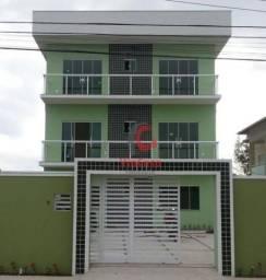 Apartamento com 2 quartos ( 1 suíte ), sala, cozinha, banheiro social, área de serviço e g