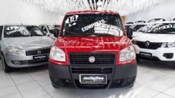 Fiat Doblo Cargo 1.4 Flex 2014 Vermelha Completa Único Dono Doc OK