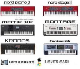 245GB - Motif, Kronos, Nord, Fantom, Ultimate Stage Pianos HD comprar usado  Parnaíba