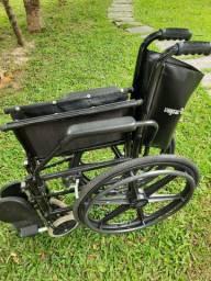 "Cadeira de rodas Jaguaribe ""nova""."