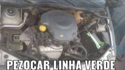 Motor Parcial 1.6 8v Gasolina Clio Kangoo Sandero Logan Revisado C/ Nota E Garantia