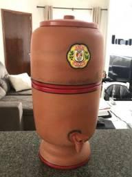 Filtro de barro sao joao usado 2 meses, 4 litros