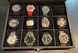Relógios, vendo todos ou a unidade.