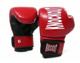 Luva Boxe muay thai Knockout infantil