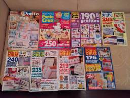 8 Revistas de ponto cruz