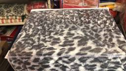 Capa de sofá estampada