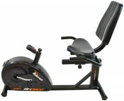 Bicicleta Ergométrica Polimet Horizontal Bh3800 Com Garantia