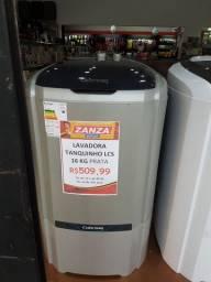 Lavadora tanquinho prata 16 kg só R$509,99 ou em 10x sem juros no cartão