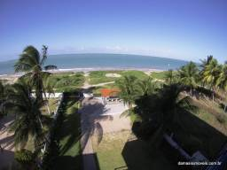 Apartamento a Beira Mar na Praia de Areia Dourada