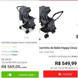 Título do anúncio: Combo! Banheira banda e carrinho de bebê cosco