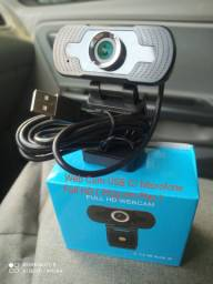 Web Cam USB C/ Microfone Embutido Full HD