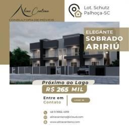 Apartamento para Venda em Palhoça, Aririu, 2 dormitórios, 2 banheiros, 1 vaga