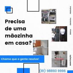 Manutenção, instalação e serviços na sua residência  ou empresa