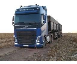Volvo Fh 540 6x4 2016 C/ Rodocaçamba e contrato de serviço