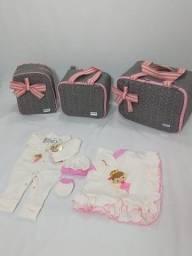 Kit bolsas e saida maternidade luxo!