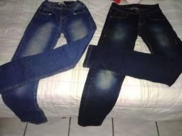 Vendo duas calças jeans masculina.