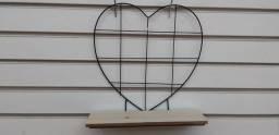 Prateleira coração
