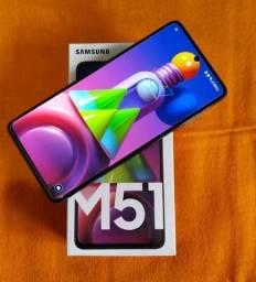 Troco Galaxy M51 128gb/6gb RAM por Galaxy A71 ou Redmi Note 10