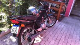 Honda cg titan 125 ES 2003 raridade