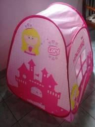 Cabaninha infantil rosa