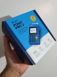 Máquina de cartão nova Lacrada