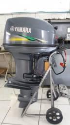 40 HP Yamaha Novo na caixa