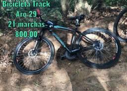 Título do anúncio: Bicicleta track aro 29; 21 marchas