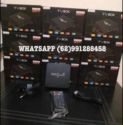TV BOX 4K 128GB ATUALIZADO ZERO
