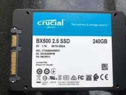 Título do anúncio: SSD Crucial 240GB BX500