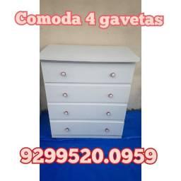 Cômoda 4 gavetas